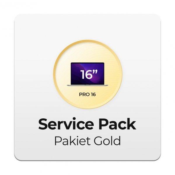 Service Pack - Pakiet Gold 2Y do Apple MacBook Pro 16