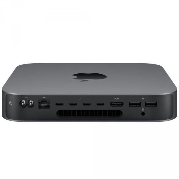 Mac mini i3-8100 / 8GB / 128GB SSD / UHD Graphics 630 / macOS / 10-Gigabit Ethernet / Space Gray