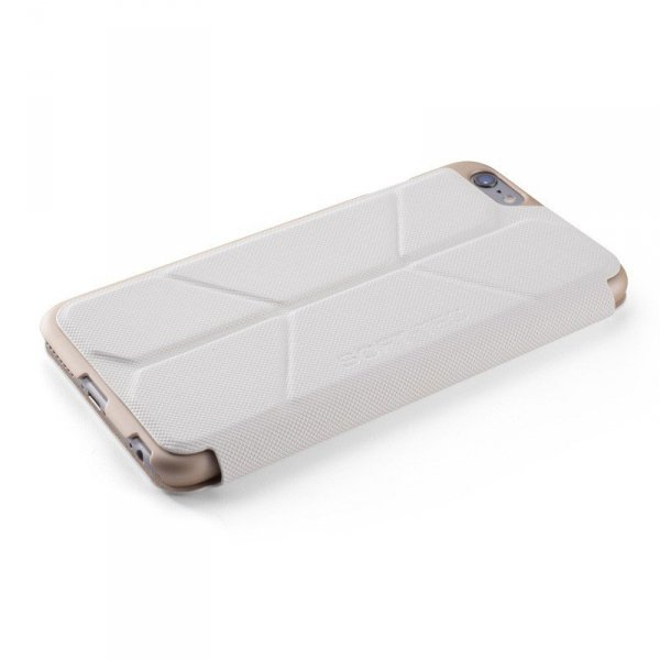 Element Case Soft-Tec Wallet Etui do iPhone 6 Plus / 6s Plus White (biały)