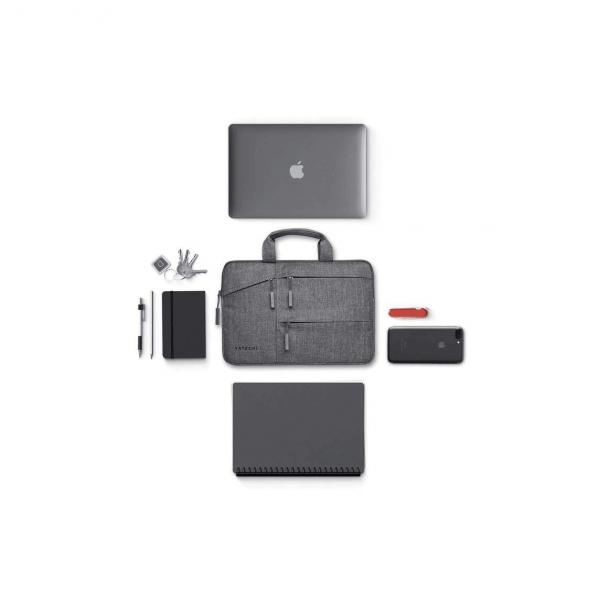 Satechi Waterproof Case - wodoodporna torba z kieszeniami na laptopa 13-calowego