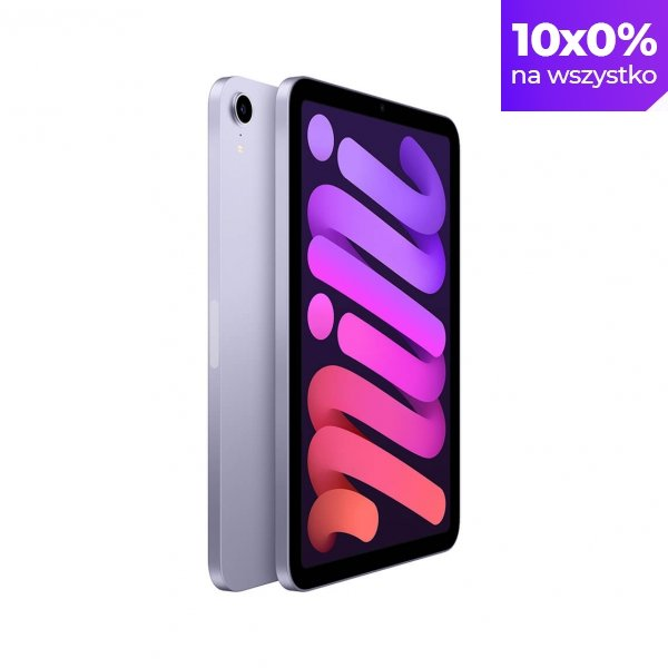 """Apple iPad mini 6 8,3"""" 256GB Wi-Fi Purple (Fioletowy)"""