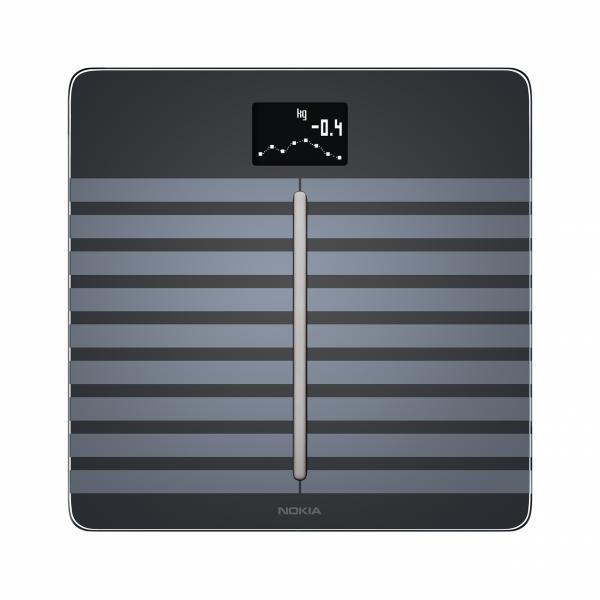 NOKIA Body Cardio - pełna analiza składu masy ciała (czarna)