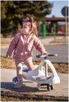 Pojazd dziecięcy TwistCar + Świecące kółka - kolor biały