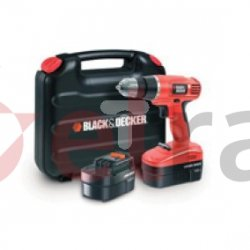 Wiertarko wkrętarka akumulatorowa 12,8Nm 10mm Black&Decker EPC18CABK