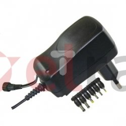 Zasilacz uniwersalny 100-240V 3-12V 600mA /6 końcówek/ MW3N06GS N3010