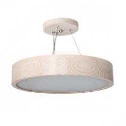 Oprawa wisząca E27 2x60W JASMIN 370-W-H biały dąb 23751