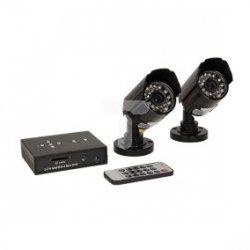 Przewodowy zestaw do monitoringu 2-kanałowy CCTV OR-MT-JX-1804