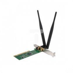 Bezprzewodowa karta sieciowa WiFi podwójna antena 5dBi PCI N300 NETIS WF2118