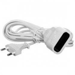 Przedłużacz 3m 2x0.75mm2 Max 1380W 6A 230V VELSTRO VS-01-025
