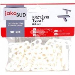 Krzyżyki dystansowe do glazury typ T 8mm M-01-013 /30 szt./