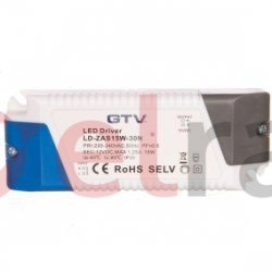 Zasilacz LED 12V 15W 220-240V AC IP20 122,5x45x25,3mm LD-ZAS15W-30N