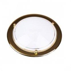 Plafoniera Kobi średnia złota P1/1C 1x60W E27 fi300mm E14020101181