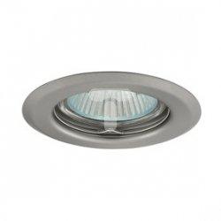 Oczko halogenowe 12V MR16 GU5,3 50W stalowe, nieregulowane, matowy chrom AXL 2114 PV16P-CM GXPP009