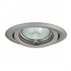 Oczko halogenowe 12V MR16 GU5,3 50W stalowe, regulowane, matowy chrom AXL 2115 PV16V-CM GXPP036