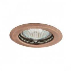 Oczko halogenowe 12V MR16 GU5,3 50W stalowe, nieregulowane, miedź AXL 2114 PV16P-A GXPP007