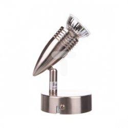 Oprawa 1x50W GU10 230V z żarówką 90x80x150mm satyn nikiel FANNY-1 SN