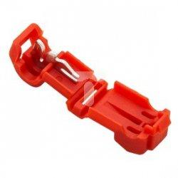 Szybkozłączka 0,5-1,0mm2 czerwona 43-401# /100szt./