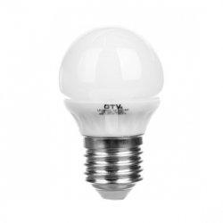 Żarówka LED SMD 3014 b45 35 LED ciepły biały E27 3,5W 220-240V AC LD-SMB45C-35P