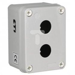 Kaseta sterownicza pusta uniwersalna ABS /2x fi22/ HF999002 004770413