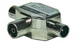 Rozgałęźnik antenowy R-TV 2xIEC EU 2501 J0199