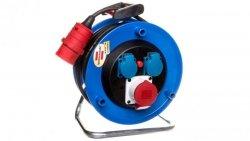 Przedłużacz bębnowy Garant CEE 1 IP44 30m CEE 400V/16A + 2x230V H07RN-F 5G1,5 czarny 1182724130