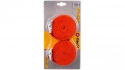 Pas do bagażu 5m x 25mm pomarańczowy 97X184 /2szt./