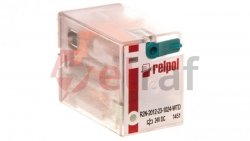 Przekaźnik przemysłowy 2P 24V DC AgNi R2N-2012-23-1024-WTD