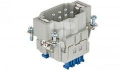 Złącze (wkład) (0,14-2,5 mm2) 6+PE męskie 500V 16A Han ES Press 09330062648