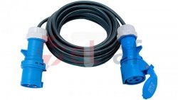 Kabel przedłużający (przedłużacz) IP44 25m CEE 230V/16A H07RN-F 3G2,5 1167650225
