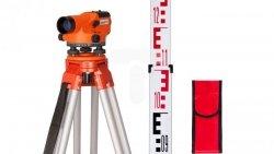 Niwelator optyczny N32-easy + statyw + łata z pokrowcem Landy 32 zestaw 11-255-23
