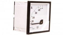 Amperomierz analogowy tablicowy 800/400A do przekładnika 400/5A 72x72mm IP50 C3 K=90 st. EA17N F42100000000