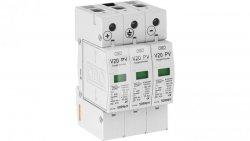 Ogranicznik przepięć PV 600V DC Typ 2 C 3P 20kA 2,6kV V20-C 3PH-600 5094605