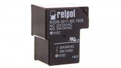 Przekaźnik przemysłowy 1P 30A 5V DC PCB R30N-3011-85-1005 2614727