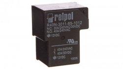 Przekaźnik przemysłowy 1P 40A 12V DC PCB R40N-3011-85-1012 2614728