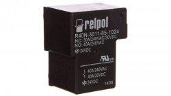 Przekaźnik przemysłowy 1P 40A 24V DC PCB R40N-3011-85-1024 2614814