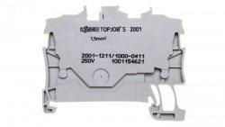 Złączka 2-przewodowa 1,5mm2 diodowa szara TOPJOBS 2001-1211/1000-411 /100szt./
