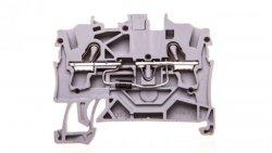 Złączka 2-przewodowa 2,5mm2 diodowa szara TOPJOBS 2002-1211/1000-411 /100szt./