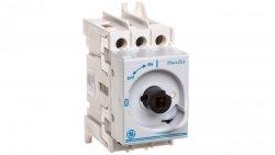 Rozłącznik izolacyjny DILOS 00 25A 3P bez pokrętła D/061302-251 730987