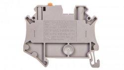Złączka przelotowa 2-przewodowa z odłącznikiem nożowym 4mm2 szara Ex UT 4-MT-EX 3046141 /50szt./