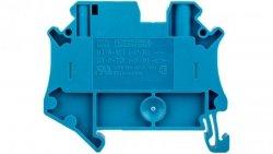 Złączka szynowa rozłączalna 2-przewodowa 4mm2 niebieska UT 4-TG-P/P BU 3073296 /50szt./