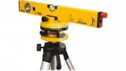 Poziomnica laserowa 40 cm statyw długość fali lasera 650nm dokładność pomiaru ±0 5 mm/m zasięg do 40 m  29C901