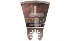 Brzeszczot łukowy do urządzenia wielofunkcyjnego 68 mm galwaniczne pokrycie nasypem diamentowym do ceramiki 56H053