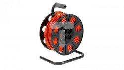 Przedłużacz bębnowy 25m H05VV-F 3x1,5 4xGS /+ termik/ pomarańczowy PS-B2 T