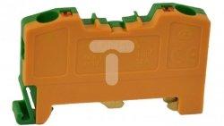Złączka szynowa gwintowa uziemiająca OPK-T 4mm2 żółta-zielona T0-1199
