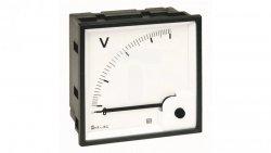 Woltomierz AC 96X96 pomiar bezp. 500V RQ96E AN35DDC500