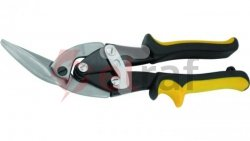 Nożyce do blachy dekarskie proste 250mm CrV MN-63-213