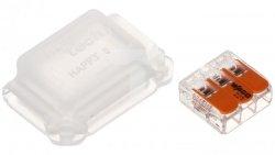Puszka instalacyjna hermetyczna IP68 Happy Joint-3 1kV 19476 /4szt./