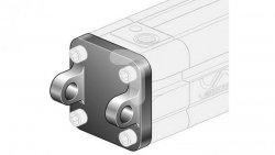 Widełki MP2 D50 ze śrubami montażowymi XAS/050 XCF/050