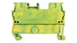 Złączka szynowa ochrona 2-przewodowa 0,08-4mm2 zielono-żółta ST-2,5 PE 3031238