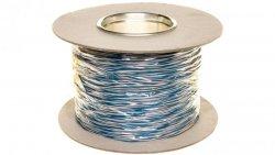 Przewód montażowy TDY 2x0,5 biało-niebieski /500m/